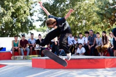 Un dels competidors a l'Open (foto: Ajuntament de Rubí – Localpres).