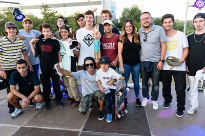 Entrega de premis 7è Skate Open Rubí