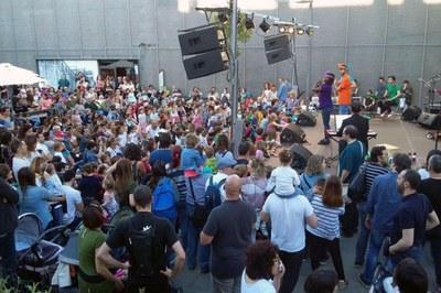 """Les anteriors edicions d'""""El meu primer festival"""" han gaudit d'un gran èxit de públic (foto: Ajuntament de Rubí)."""