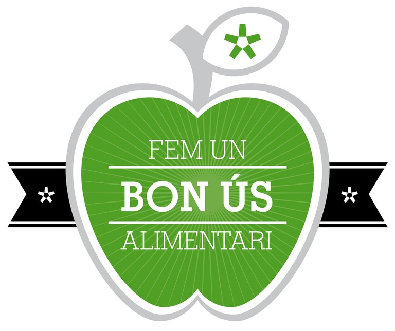 Imatge de la campanya 'Fem bon ús alimentari'