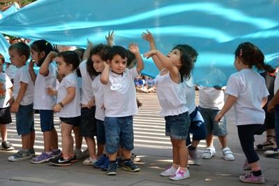Infants de l'escola bressol La Bruna (foto: Localpres)