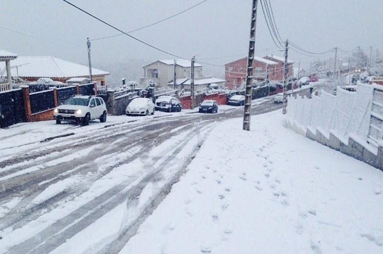 Neu a les urbanitzacions