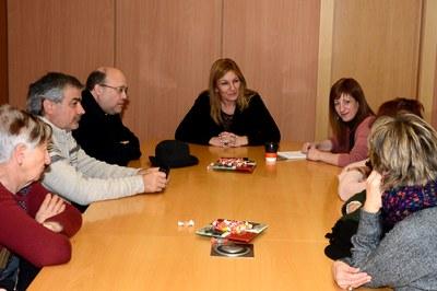 La reunió va tenir lloc a la sala de la Junta de Govern (Foto: Localpres).