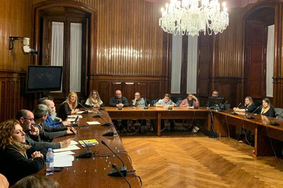 La reunió s'ha celebrat al Parlament (foto: Ajuntament de Rubí).