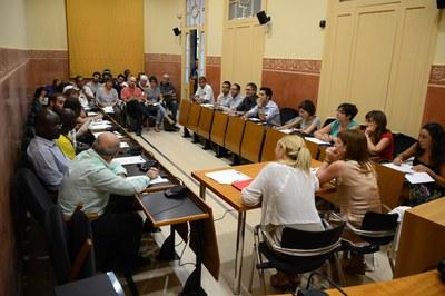 El Consell Municipal de Cooperació s'ha reunit de manera extraordinària aquest dimecres (foto: Localpres).
