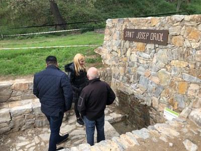 Ca n'Oriol ha estat una de les primeres visites de la iniciativa.