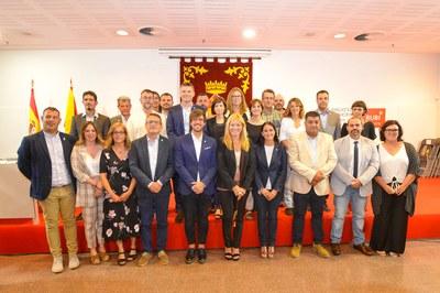 Els 25 regidors i regidores (foto: Ajuntament de Rubí - Localpres)