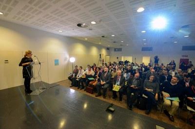 L'alcaldessa, Ana Martínez, ha inaugurat la jornada (Foto: Localpres).