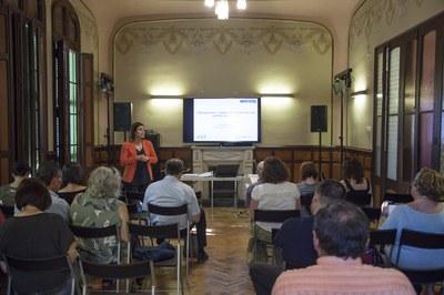 La formació té lloc a l'Ateneu (foto: Localpres).