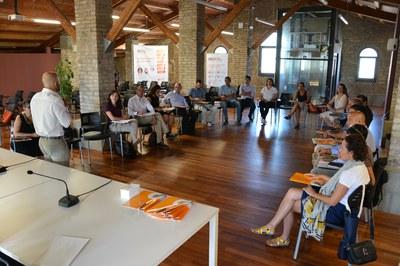 La sessió s'ha celebrat al Fòrum de la Masia de Can Serra .