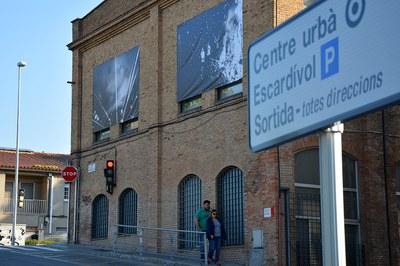 Fotografies de David Molina a l'edifici de l'Escardívol.