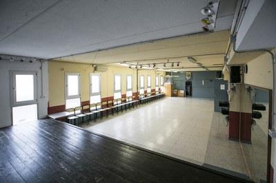 Un dels espais que es reformarà és la sala d'actes (foto: Ajuntament de Rubí – Lali Puig).
