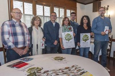 La roda de premsa ha tingut lloc a l'Antic Hostal del Gall (foto: Cesar Font).