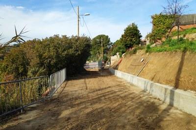 Les obres permetran que aquest espai recuperi les condicions d'accés com a camí.