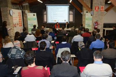 La jornada s'ha celebrat al Fòrum de la Masia de Can Serra (foto: Localpres).