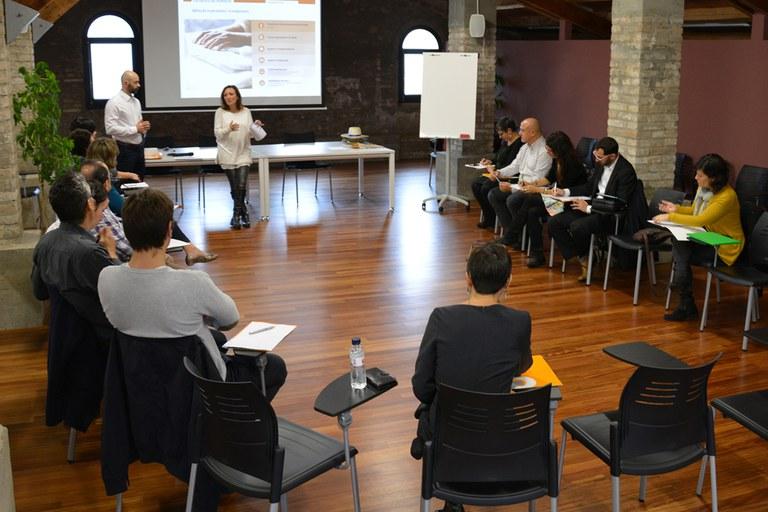 Presentació de la sessió