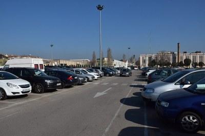 No es podrà aparcar a l'Escardívol a partir d'aquest dijous (foto: Localpres).