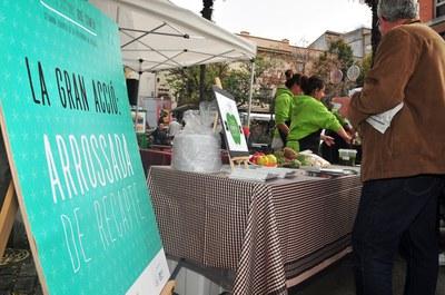 A Rubí, l'acte estrella de la Setmana Europea de la Prevenció de Residus va ser l'arrossada de recapte (foto: Localpres).