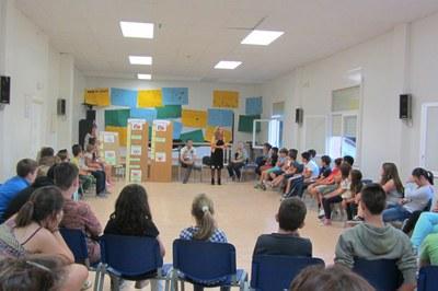 Nois i noies de diversos municipis han participat aquest cap de setmana en unes jornades a Cabrera de Mar.
