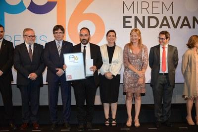 Complift ha recollit el Premi Cambra a la iniciació a la internacionalització (foto: Localpres)