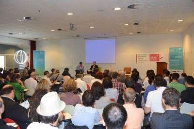 Conferència inaugural (foto: Localpres)
