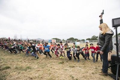 Moment de la sortida d'una de les curses (Foto: Ajuntament/Lali Puig).