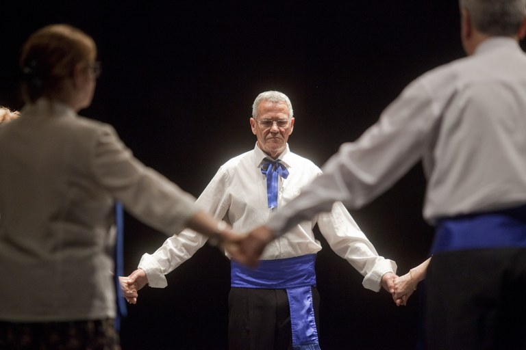 Actuació del grup de sardanes (foto: Localpres)