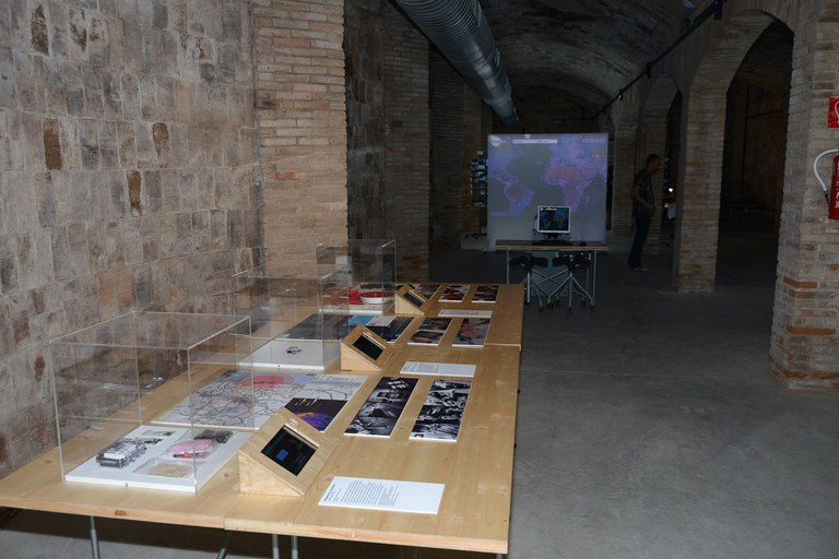 """Exposició """"Immersos en les dades"""" (foto: Localpres)"""