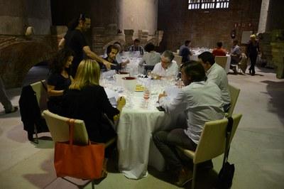 Un total de 24 professionals del món del vi integren el jurat d'aquesta tercera edició dels Premis Vinari (foto: Localpres)