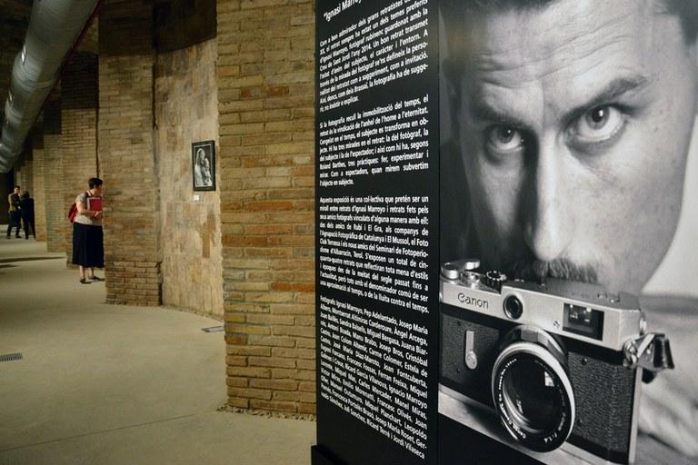 L'exposició s'ha instal·lat a la Sala Cèsar Martinell