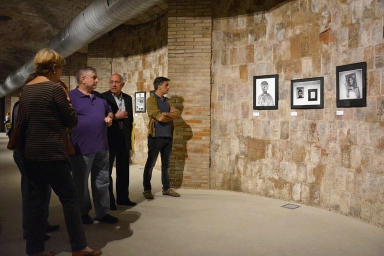 Manel Miras ha fet un recorregut per l'exposició