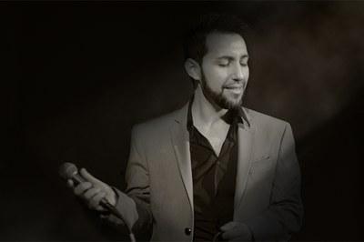 El vocalista de jazz Anthus (foto: www.anthus.eu).
