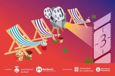 Imatge promocional del cicle de cinema.