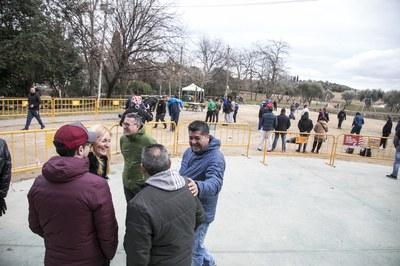 El segon open ha tingut lloc a les instal•lacions del camí de Ca n'Oriol (foto: Ajuntament de Rubí – Lali Puig).