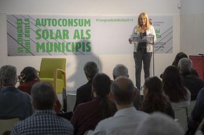 L'alcaldessa ha obert el Congrés Rubí Brilla (foto: Ajuntament de Rubí - Ramon Vilalta).