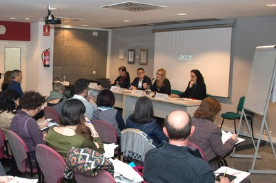 El plenari ha tingut lloc a l'auditori Rubí Forma (foto: Localpres).