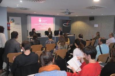 Un moment de la sessió a Rubí Forma (foto: Ajuntament de Rubí – Localpres).