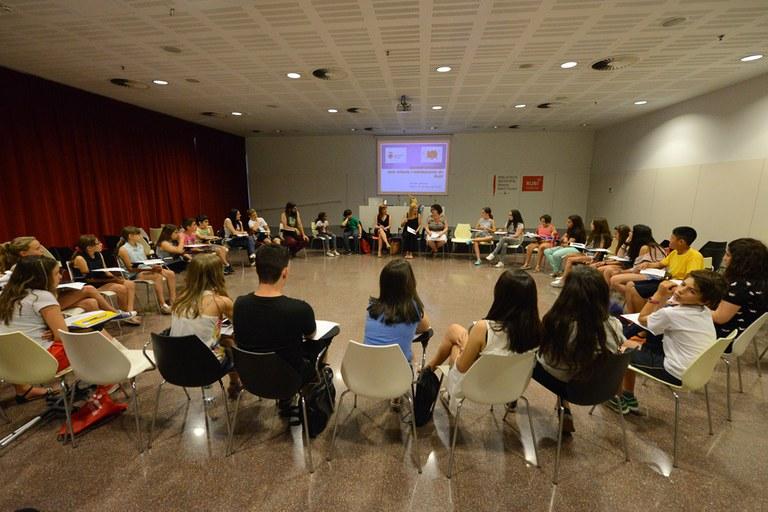 La sessió s'ha fet a la Biblioteca Municipal (foto: Localpres)