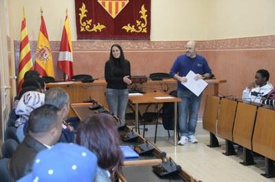 L'entrega de certificats d'acollida de finals de 2019 (foto: Ajuntament de Rubí – Localpres).