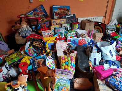 A l'estiu, es van recollir 470 kg de joguines (foto: Ajuntament de Rubí).