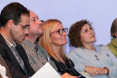 Ana María Martínez ha estat una de les alcaldesses que han assistit a la presentació de la campanya (foto: Lali Álvarez)