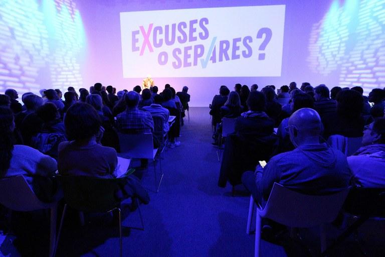 L'acte de presentació ha tingut lloc al Parc Audiovisual de Catalunya (foto: Lali Álvarez)