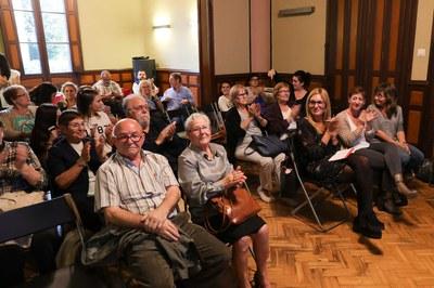 La presentació del documental ha tingut lloc a l'Ateneu Municipal (foto: Localpres).