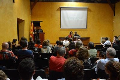 La inauguració del festival La Nuu ha tingut lloc al Museu Municipal Castell (MMUC) (foto: Localpres).