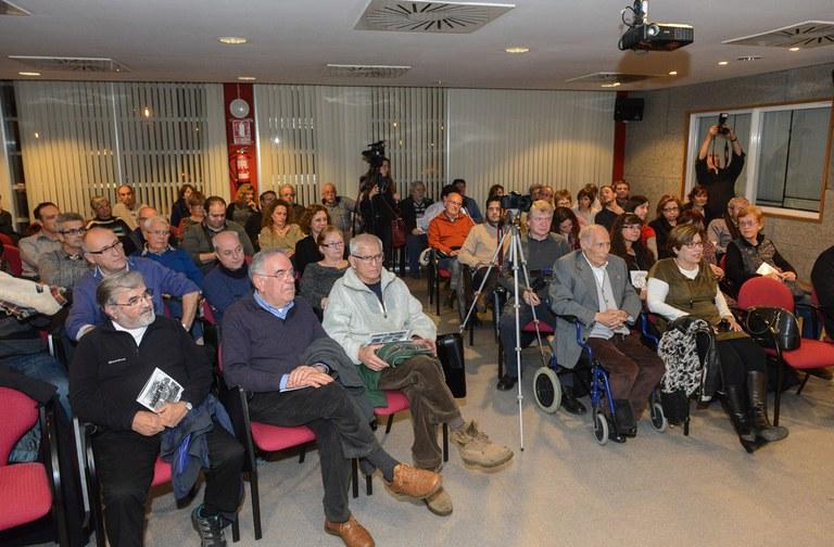 Assistents a l'acte de presentació del 50è aniversari (foto: Localpres)