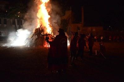 La foguera de Sant Joan (foto: Localpres).