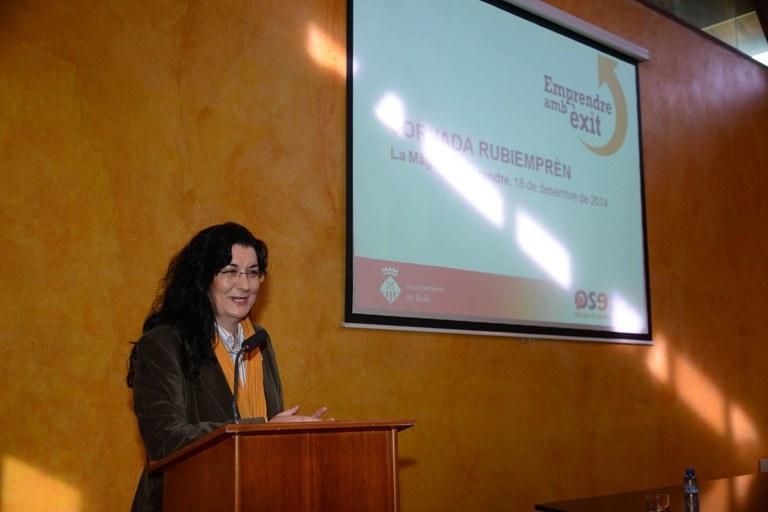 L'alcaldessa ha obert la jornada (foto: Localpres)