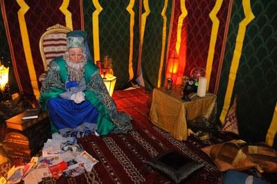El Mag Rubisenc al seu campament (foto: Localpres).