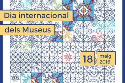 Detall del cartell commemoratiu del Dia Internacional dels Museus.
