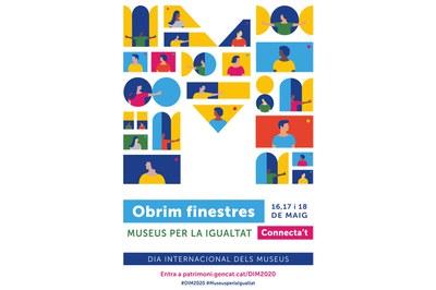Cartell del Dia Internacional dels Museus 2020.